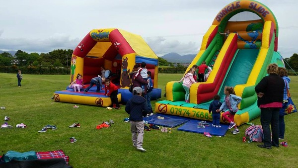 Party in the Pitch in Kilkeel